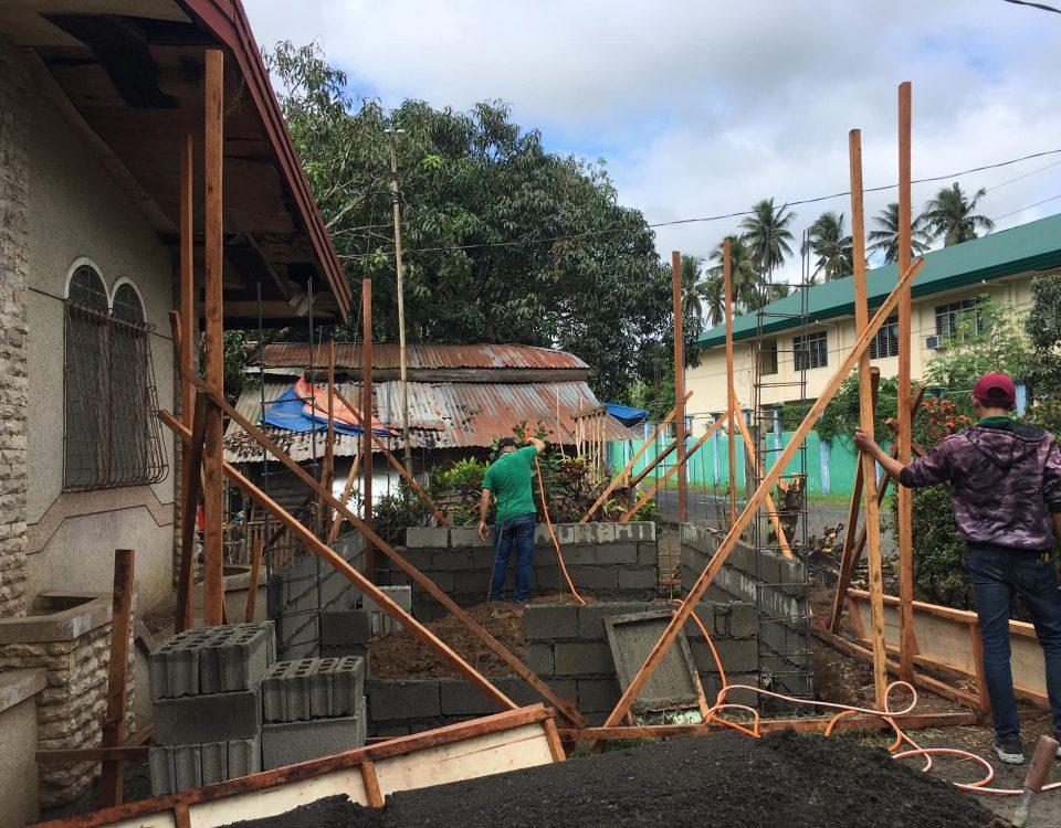 Soil Treatment for termite prevention.
