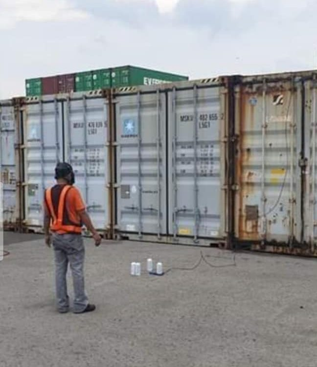 We also offer our services in  FUMIGATION  #WAREHOUSE #CONTAINERvan #withLICENS...
