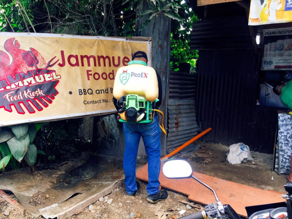 Fly control done! Thank you Jammuel Food Kiosk