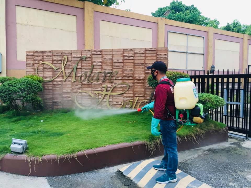 Molave Hotel invest in protecting their clients from insidious pests like mosqui...